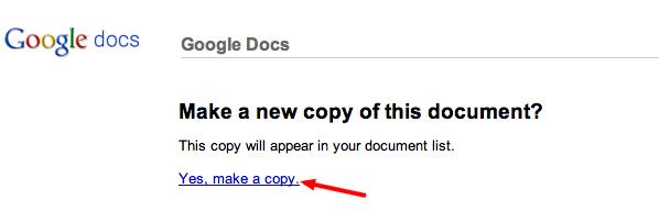 make copy